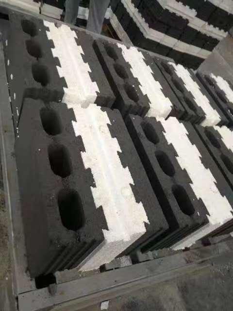 混凝土复合(EPS)自保温砌块